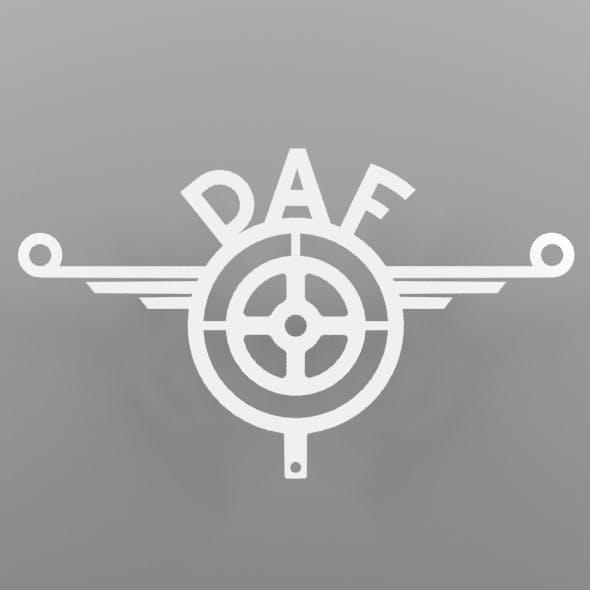 Daf-inox decoration for TIR - 3DOcean Item for Sale