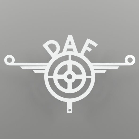 Daf-inox decoration for TIR
