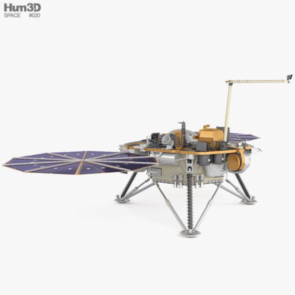InSight Mars lander - 3DOcean Item for Sale