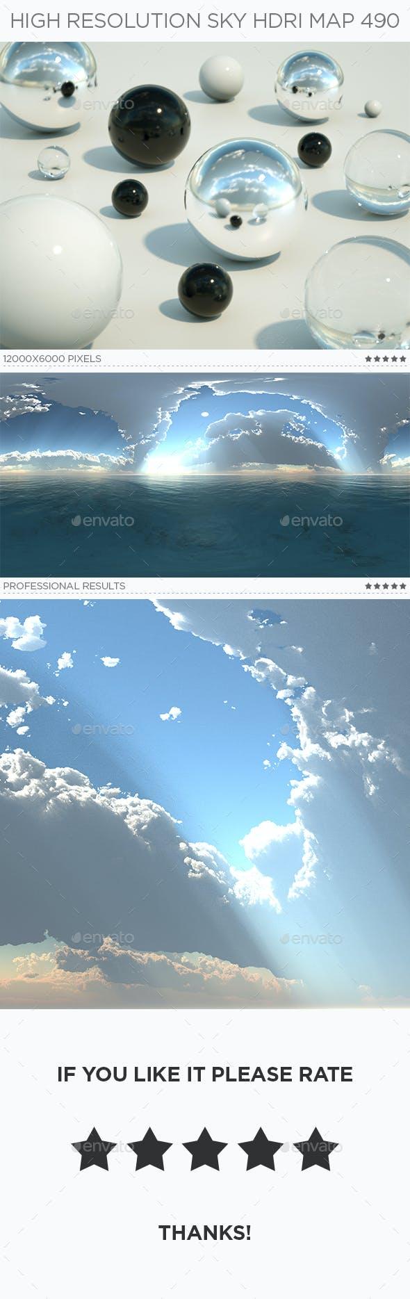 High Resolution Sky HDRi Map 490 - 3DOcean Item for Sale