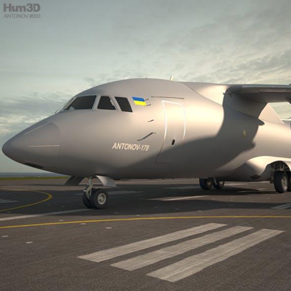 Antonov An-178 - 3DOcean Item for Sale