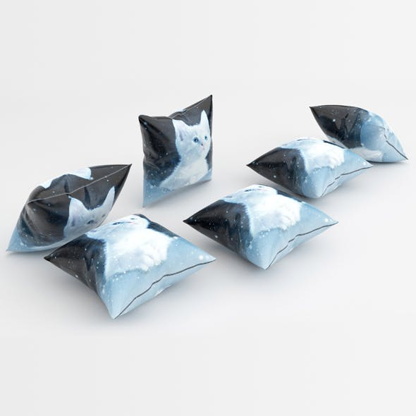 Pillows 08 - 3DOcean Item for Sale