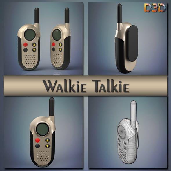 Walkie talkie - 3DOcean Item for Sale