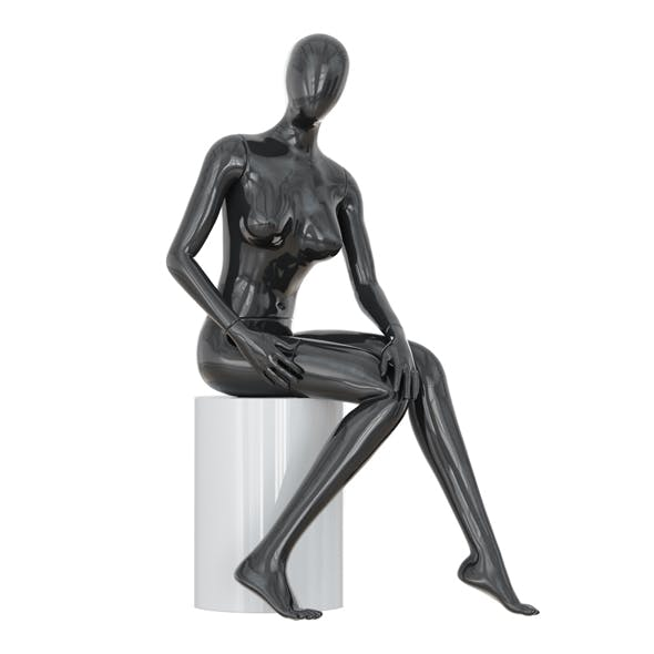 Abstract female mannequin 20