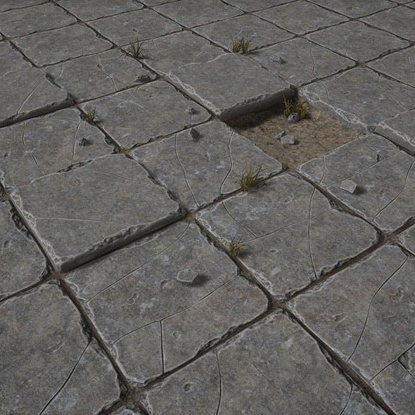 Stone Floor - 3DOcean Item for Sale