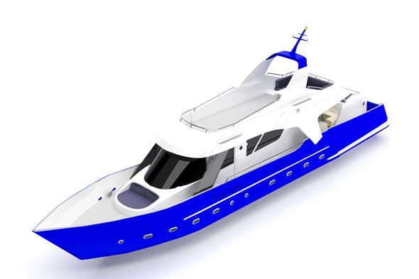 Speed boat - 3DOcean Item for Sale