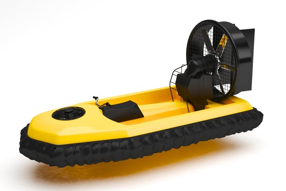Hover craft - 3DOcean Item for Sale