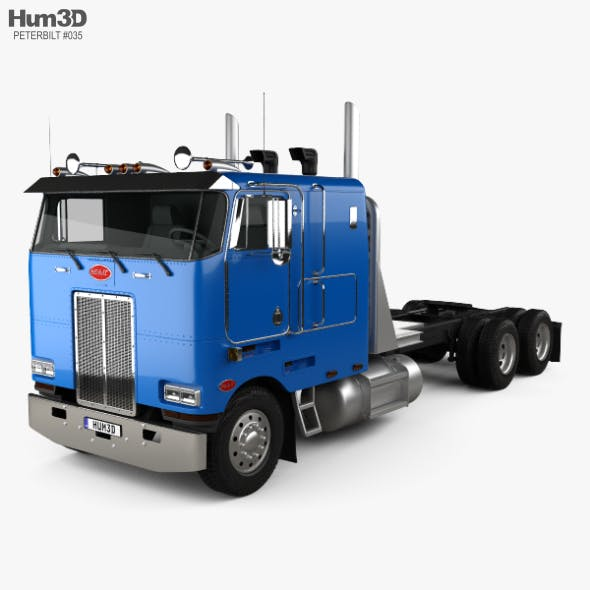 Peterbilt 362 Tractor Truck 2002 - 3DOcean Item for Sale
