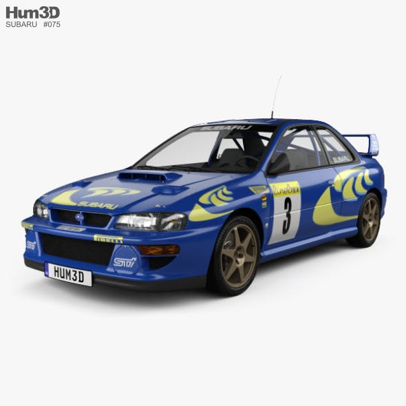 Subaru Impreza 22B Rally coupe 1997