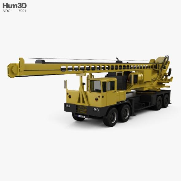 VDC Drill Rig Truck 2014