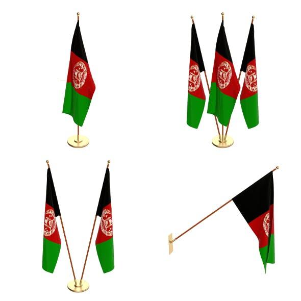 Afghanistan Flag Pack - 3DOcean Item for Sale