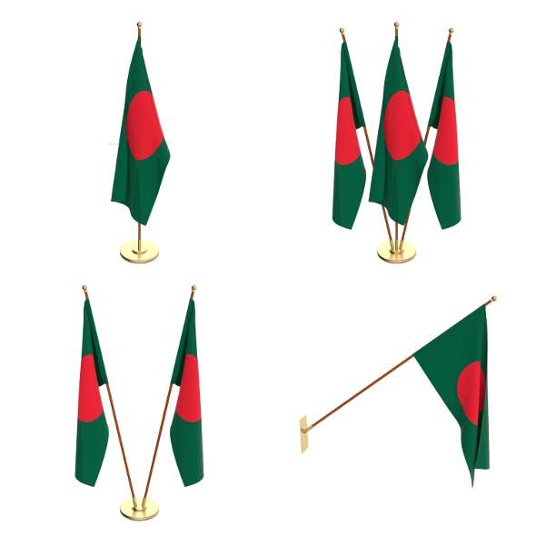 Bangladesh Flag Pack - 3DOcean Item for Sale