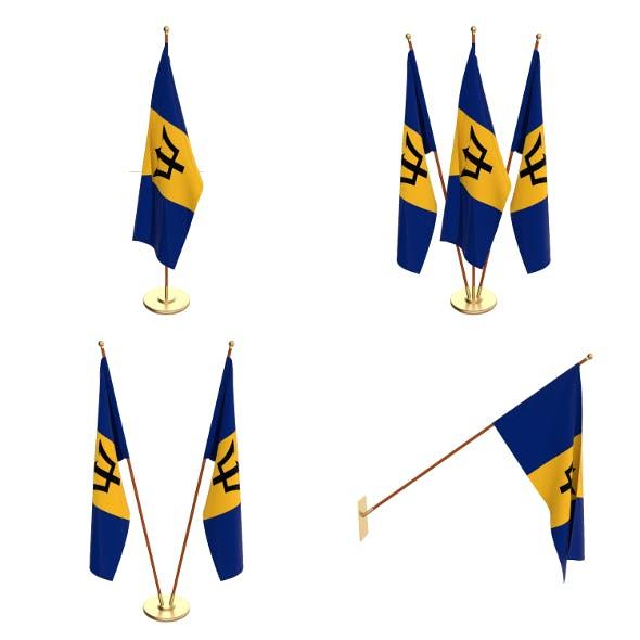 Barbados Flag Pack - 3DOcean Item for Sale
