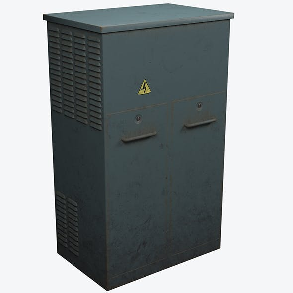 Electrical Box1 - 3DOcean Item for Sale