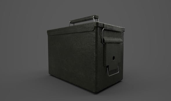 Ammo Box - 3DOcean Item for Sale