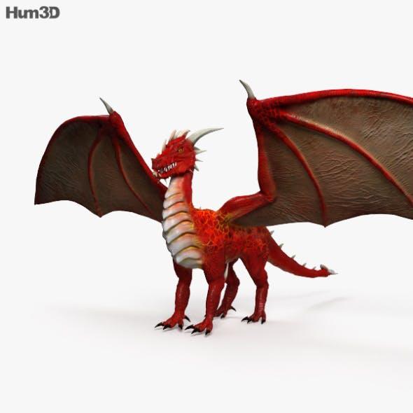 European Dragon HD - 3DOcean Item for Sale