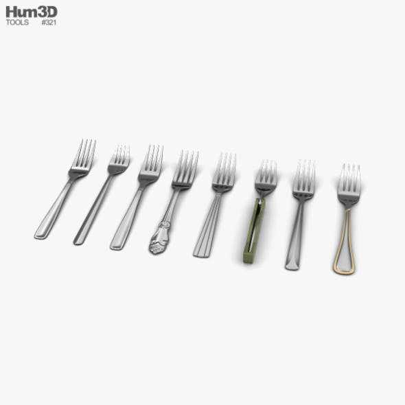 Fork - 3DOcean Item for Sale