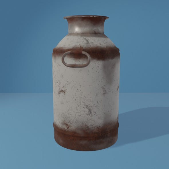 Old Milk Churn