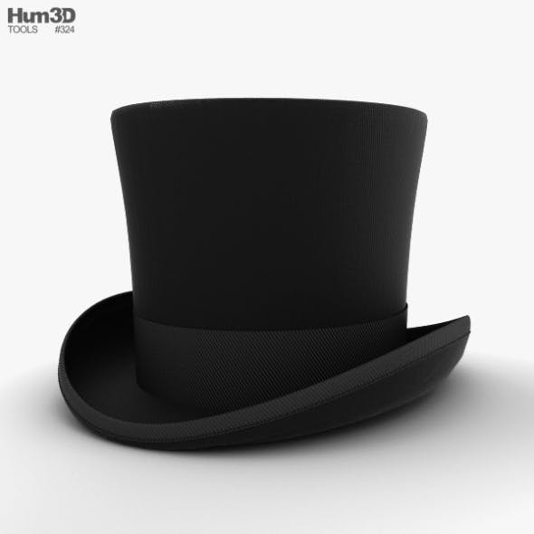 b460ca7edf8d9 Top Hat - 3DOcean Item for Sale