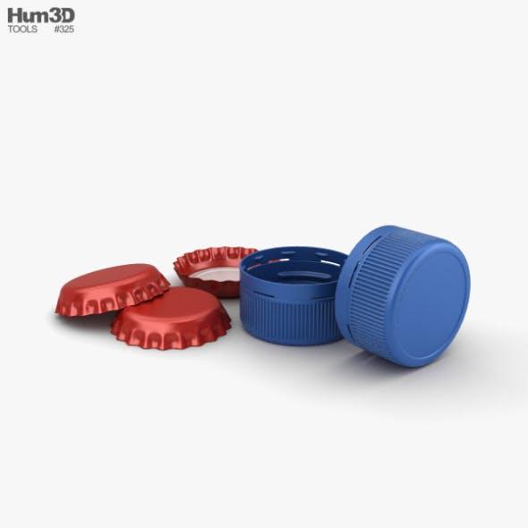 Bottle Cap - 3DOcean Item for Sale