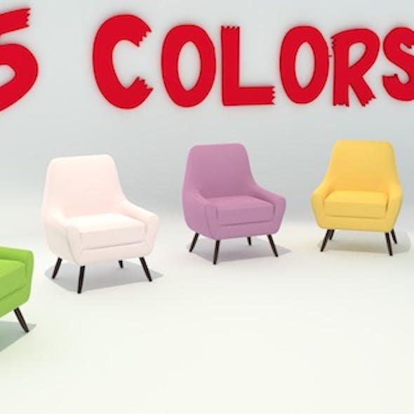 Single Lounge Chair (5-Colors)