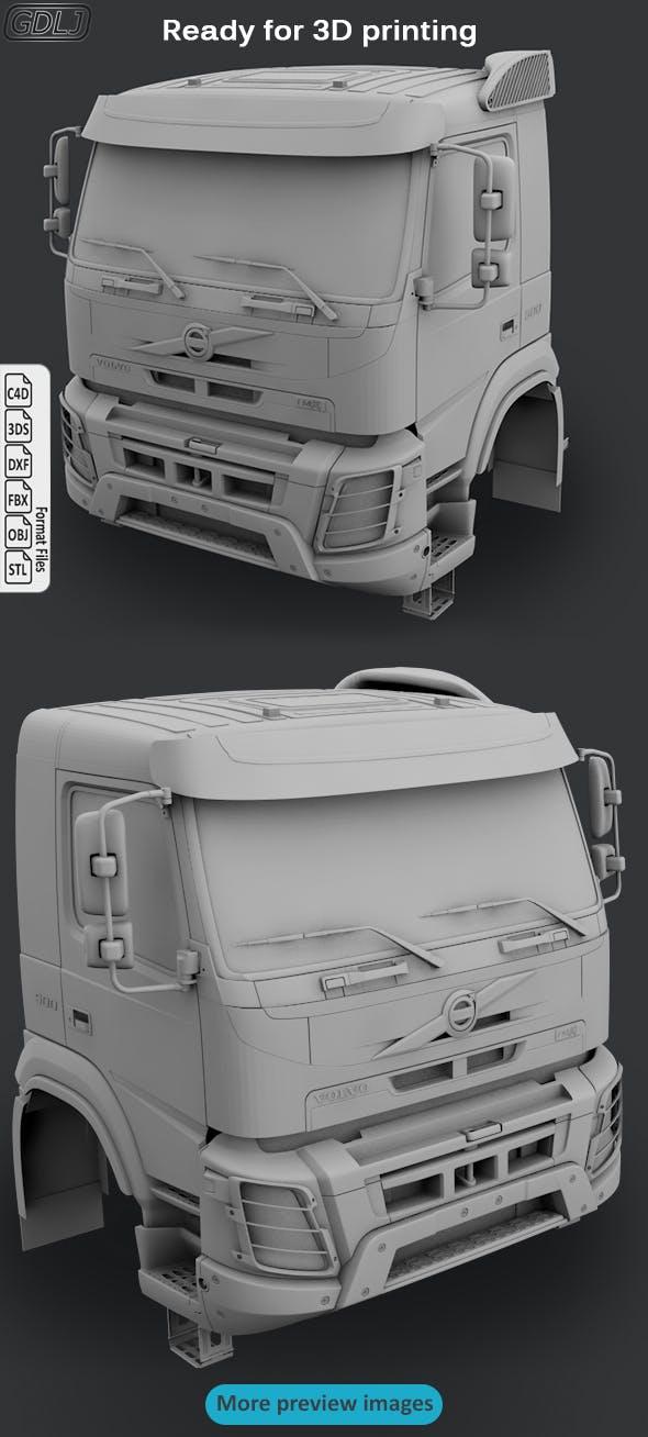 Volvo FMX porteur 500 Cabin - 3DOcean Item for Sale
