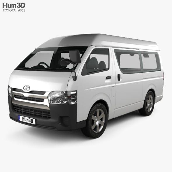Toyota Hiace Passenger Van L1H3 DX 2013 - 3DOcean Item for Sale