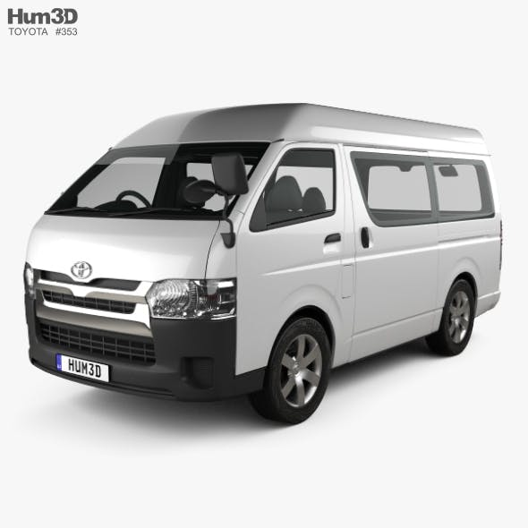 Toyota Hiace Passenger Van L1H3 DX 2013 by humster3d | 3DOcean