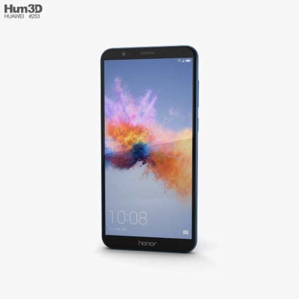 Huawei Honor 7X Blue - 3DOcean Item for Sale