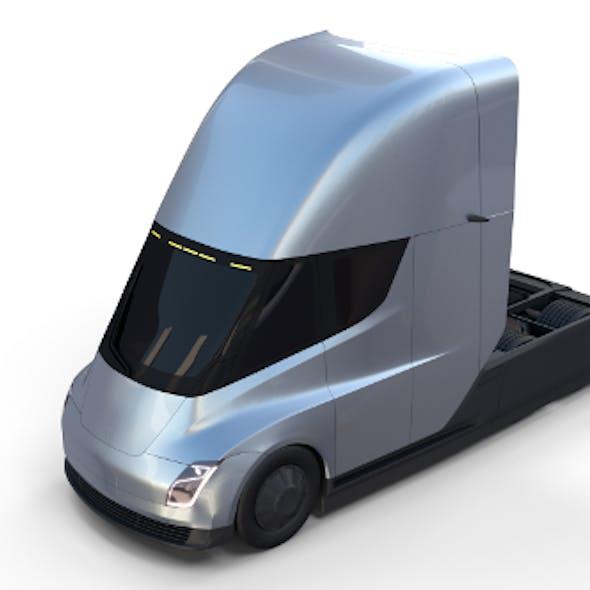 Tesla Truck Silver