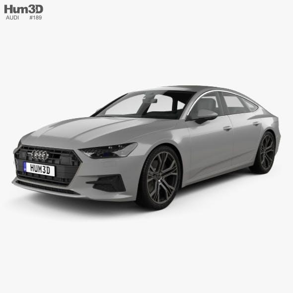 Audi A7 Sportback 2018 - 3DOcean Item for Sale