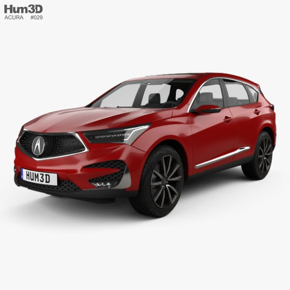 Acura RDX Prototype 2018 - 3DOcean Item for Sale