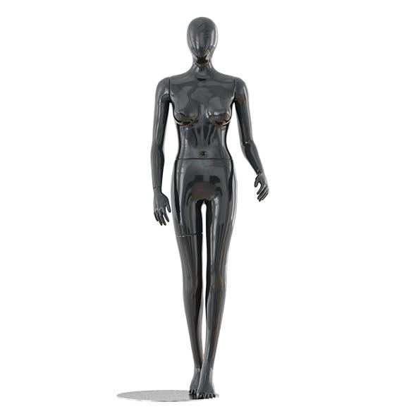 Faceless woman mannequin 23 - 3DOcean Item for Sale