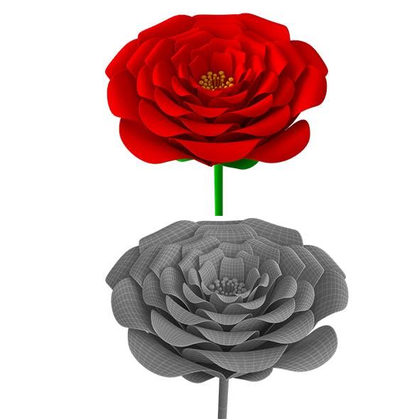 flower, love, petal, red rose - 3DOcean Item for Sale