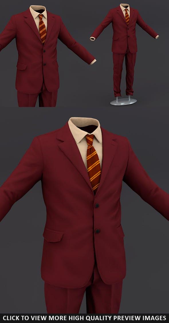 Men suit 10 - 3DOcean Item for Sale