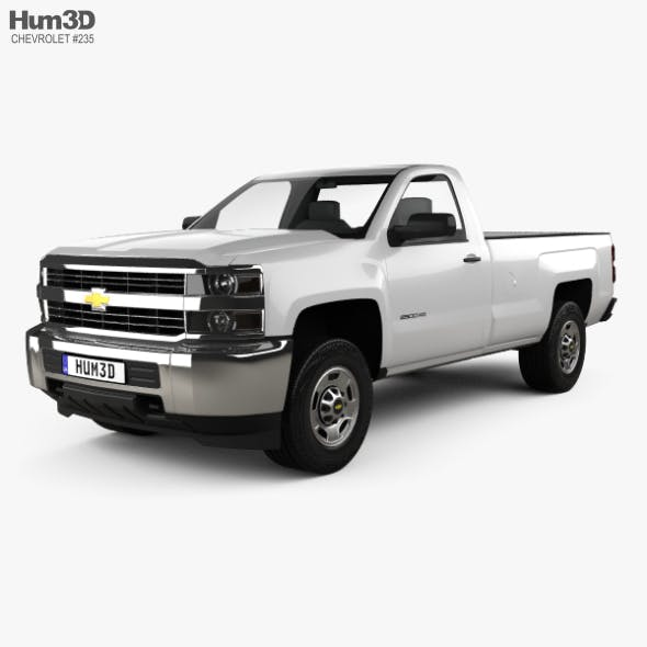 Chevrolet Silverado 2500HD Regular Cab Long Box WT 2017
