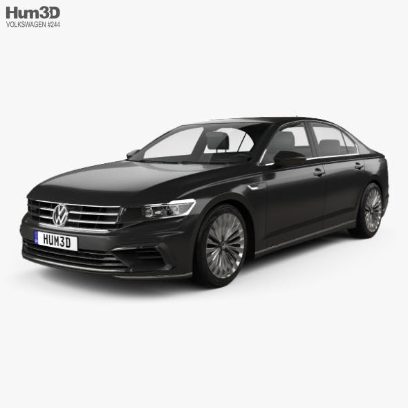 Volkswagen Phideon GTE 2017 - 3DOcean Item for Sale