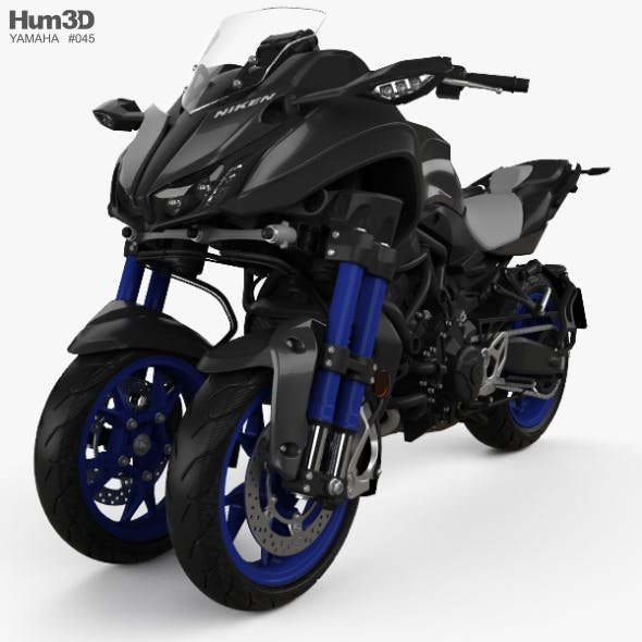 Yamaha Niken 2018 - 3DOcean Item for Sale