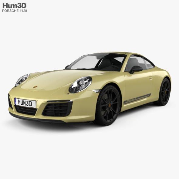 Porsche 911 Carrera T 2017 - 3DOcean Item for Sale