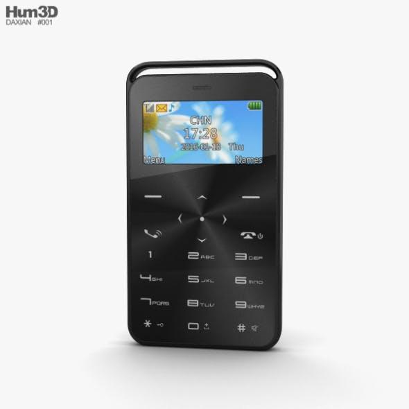 Daxian GS6 Black - 3DOcean Item for Sale