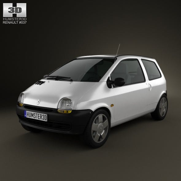 Renault Twingo 1992  - 3DOcean Item for Sale