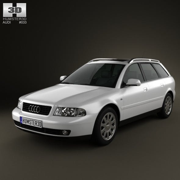 Audi A4 Avant 1999 - 3DOcean Item for Sale