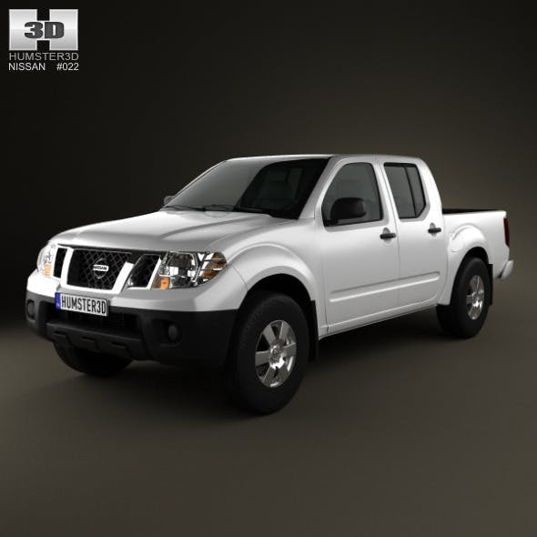 Nissan Frontier CrewCab ShortBed 2012 - 3DOcean Item for Sale