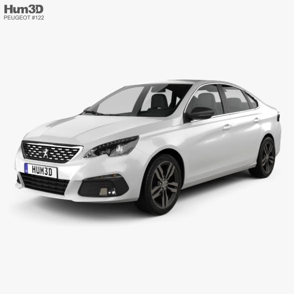 Peugeot 308 sedan 2017