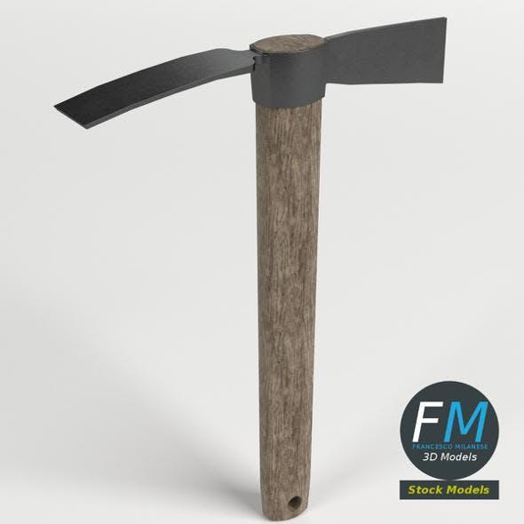 Mattock - 3DOcean Item for Sale