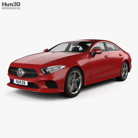 Mercedes-Benz CLS-class (C257) 2018 - 3DOcean Item for Sale