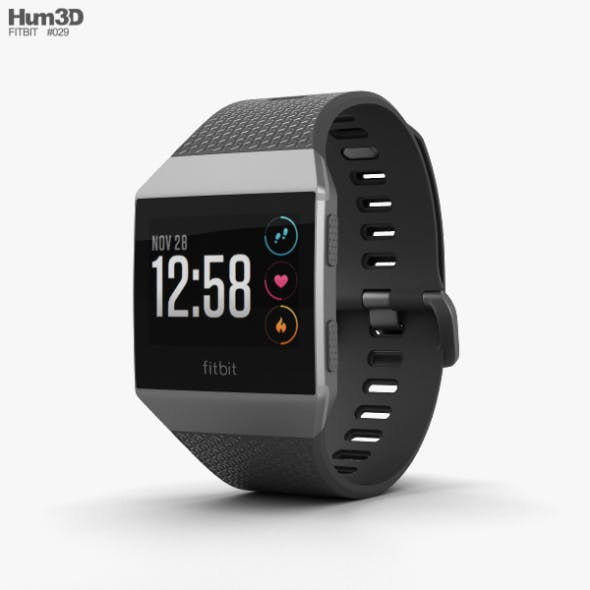 Fitbit Ionic Smoke Gray by humster3d | 3DOcean
