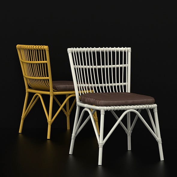 RATCHA CHAIR - RATTAN CHAIR - 3DOcean Item for Sale