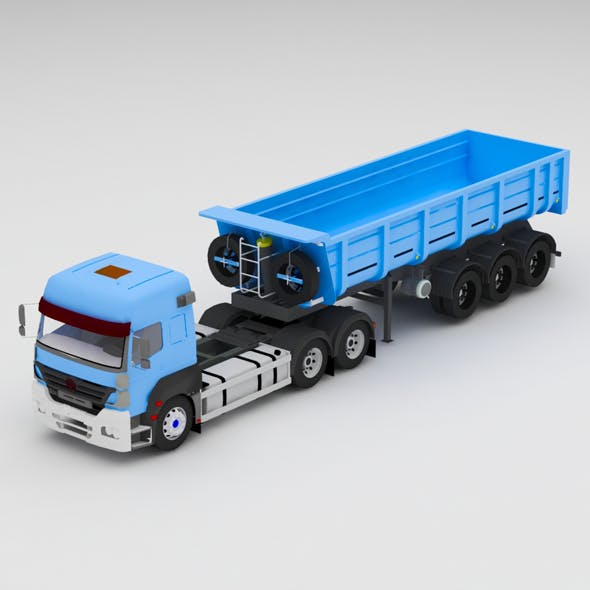 Truck - 3DOcean Item for Sale