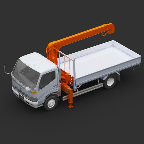 Toyota truck - 3DOcean Item for Sale